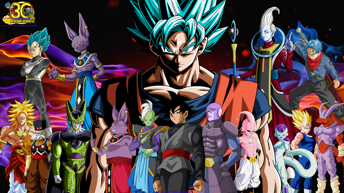 Dragon Ball Super Villains Wallpaper V By Windyechoes