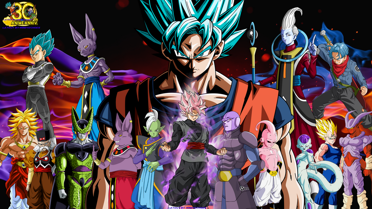 Dragon Ball Super Nightmare Wallpaper by WindyEchoes