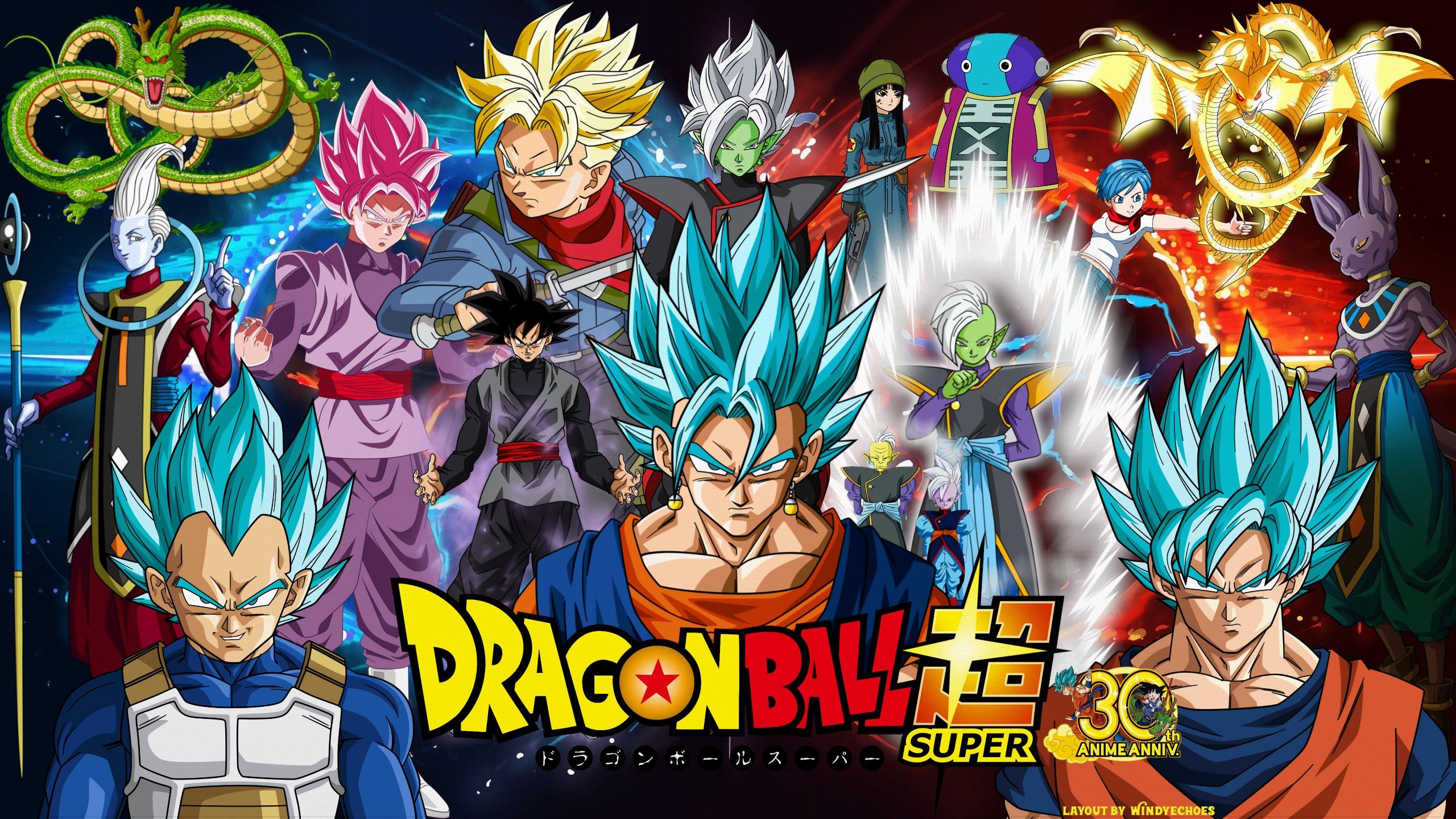 Dragon Ball Super Wallpaper Vegito Vs Zamasu By Windyechoes On