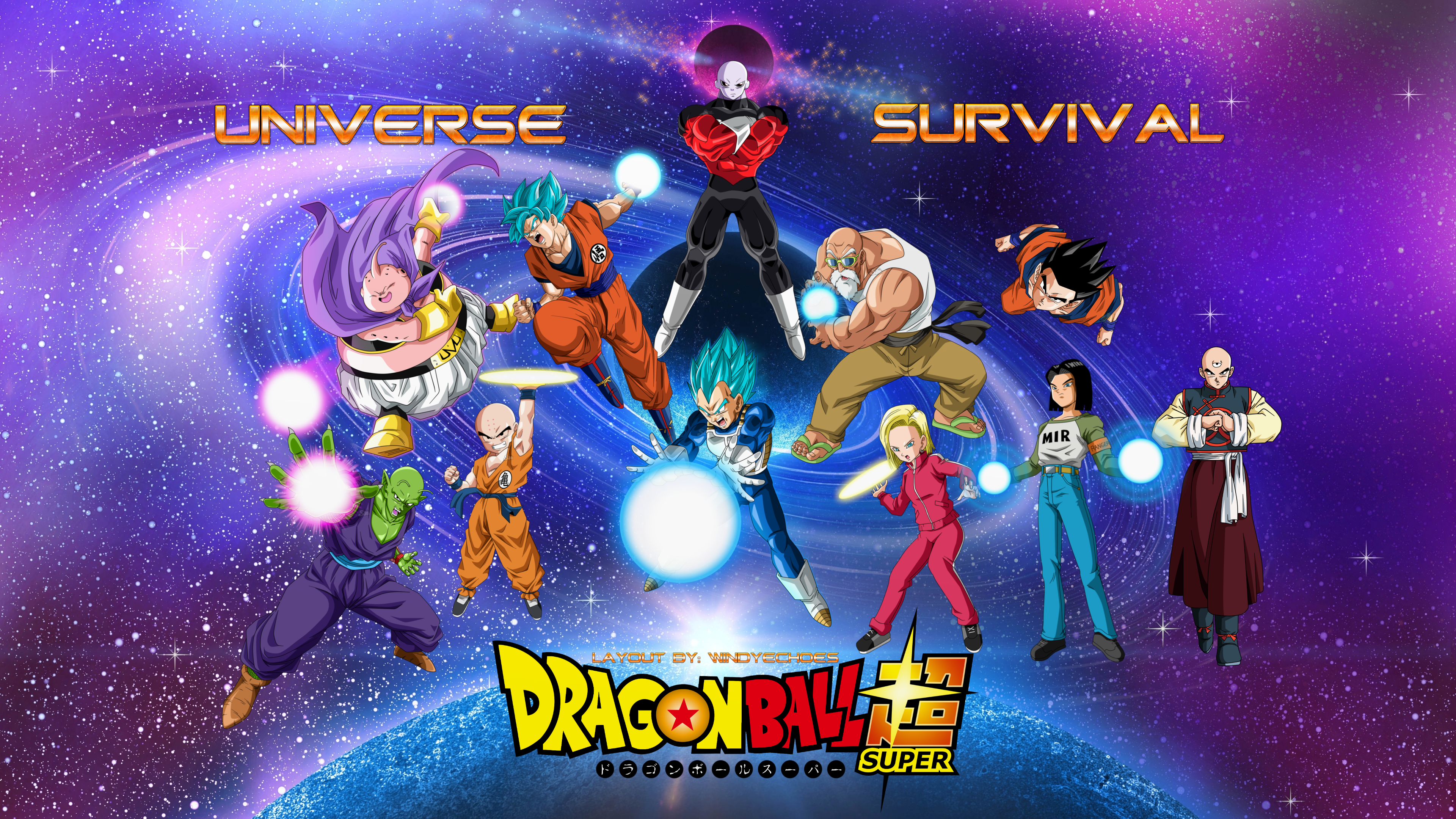 Dragon Ball Super Universe Survival Wallpaper 2 By Windyechoes On