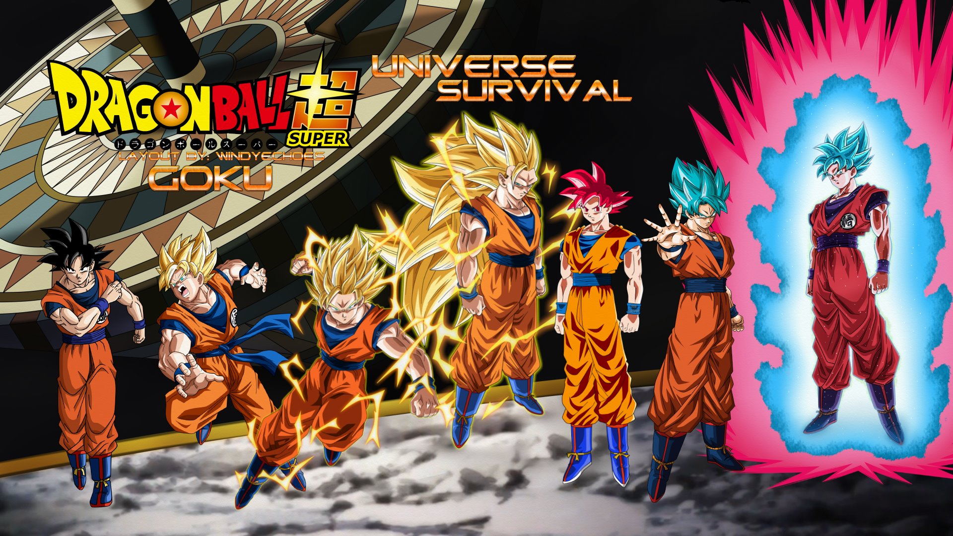 Goku Evolution Tournament Of Power Wallpaper By Windyechoes On