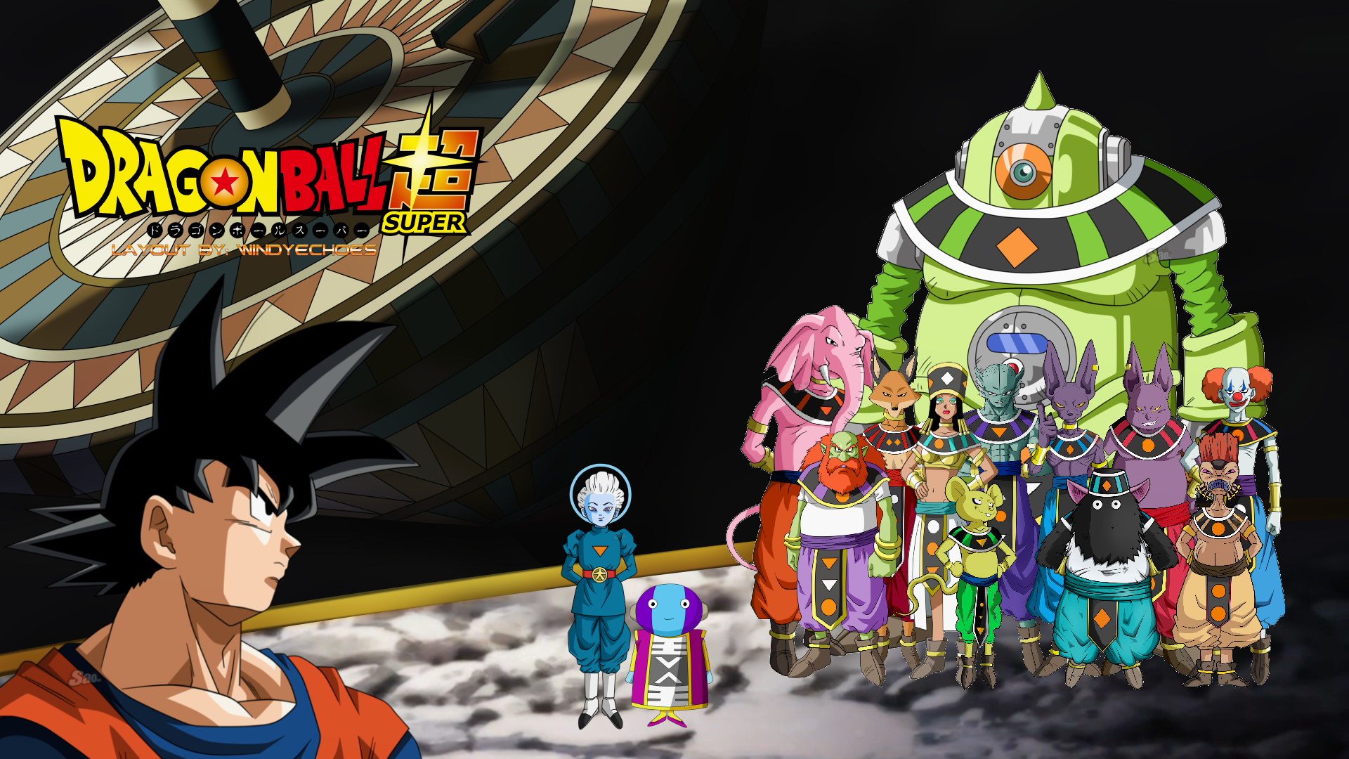 Dragon Ball Super Wallpaper Tournament Of Power By Windyechoes