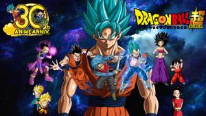 Dragon Ball Super - All Saiyans Wallpaper