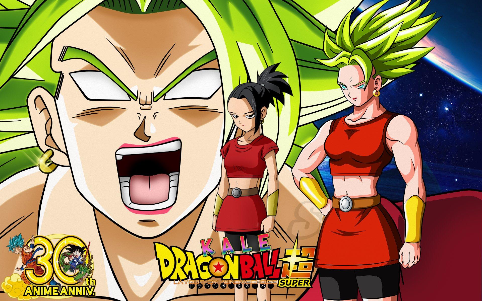 Dragon Ball Super Kale Super Saiyan Berserk Silk poster wallpaper 24 X 13 inches