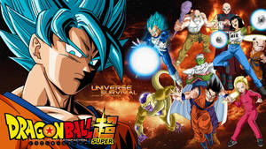 Dragon Ball Super - Universe 7 Survival Wallpaper