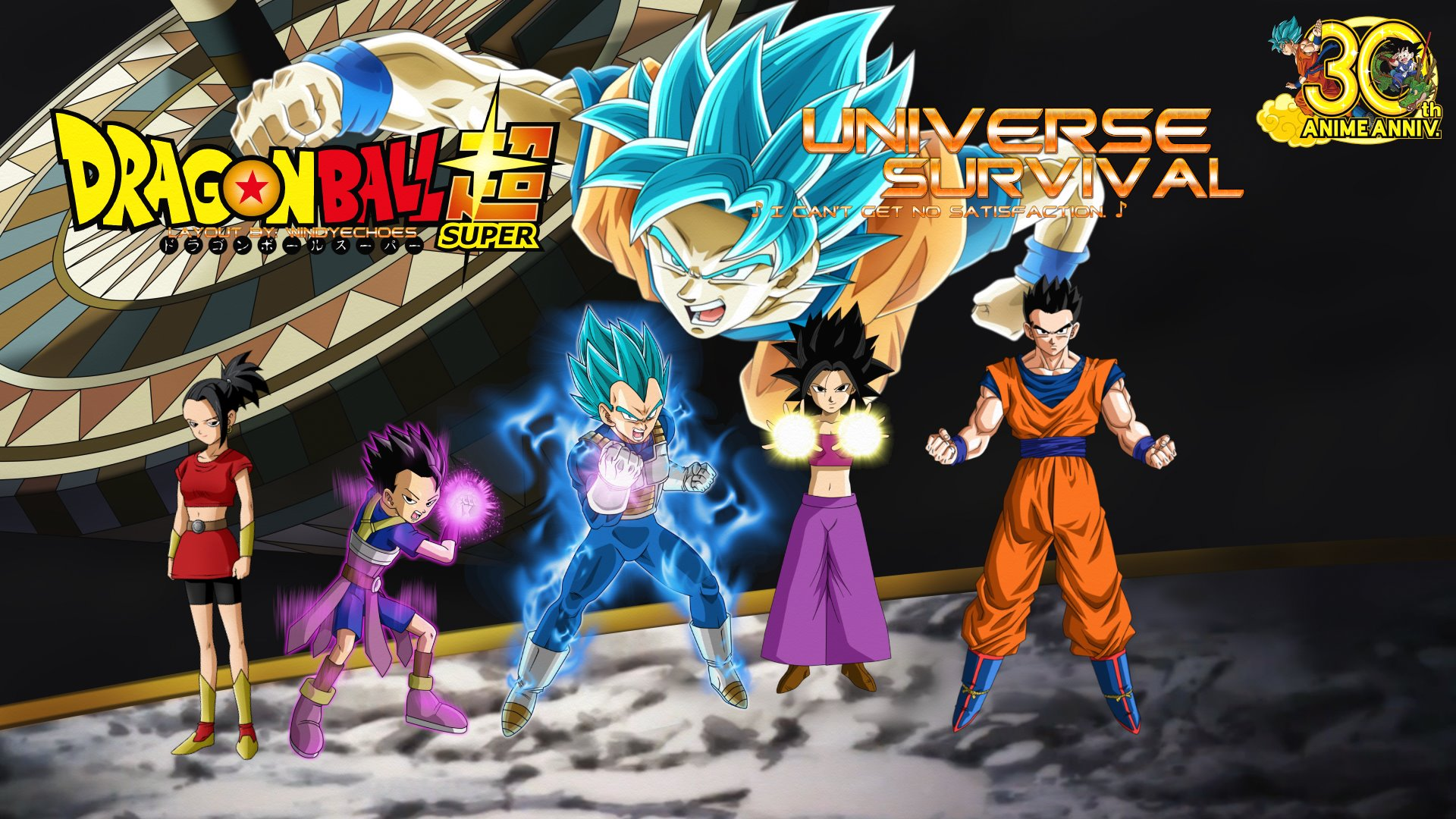 Tournament Of Power Universe Survival Saiyans By Windyechoes