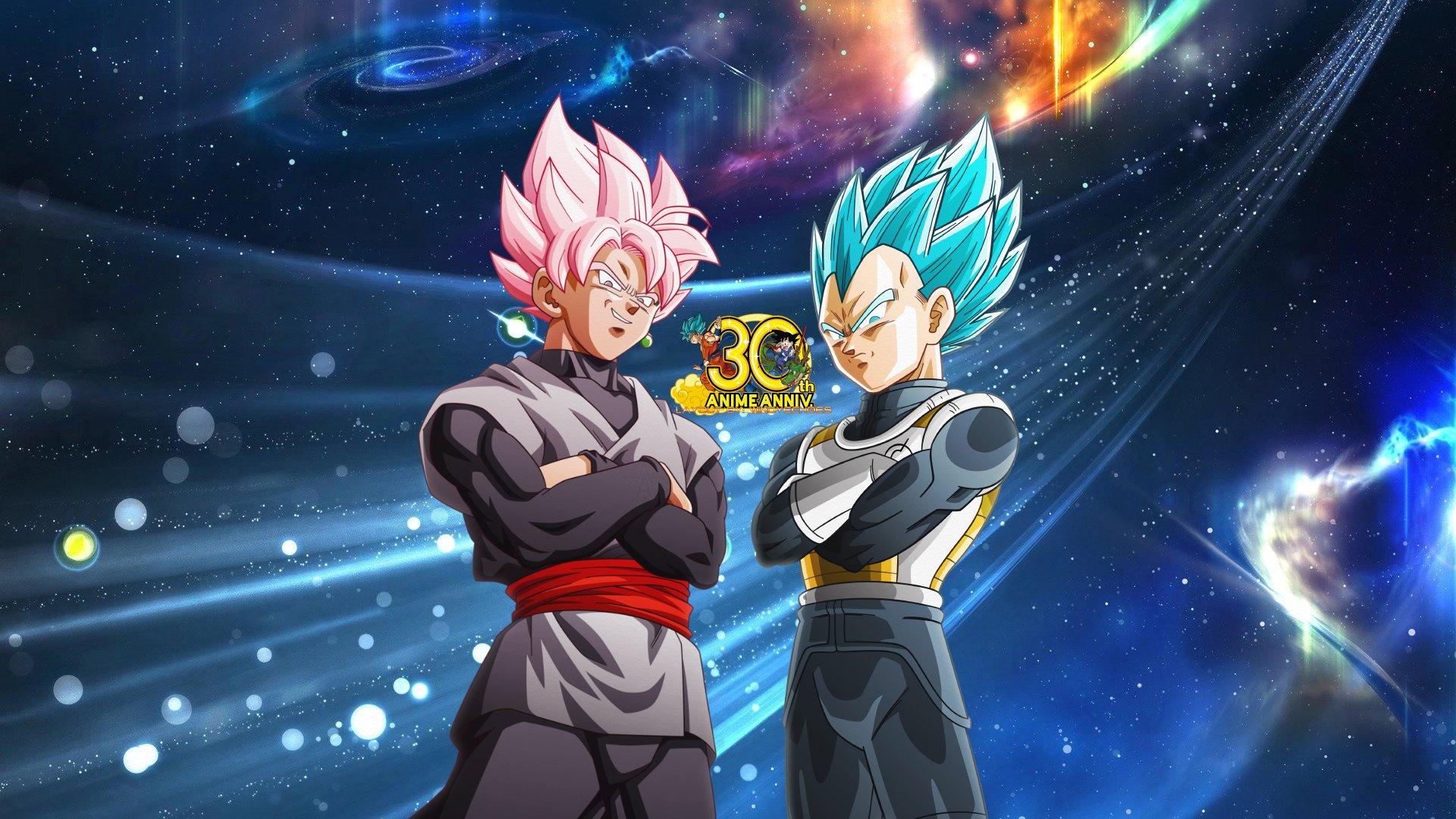 Goku Black And Vegeta Dbs Wallpaper Hd By Windyechoes On