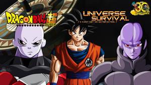 Jiren VS Goku VS Hit Wallpaper Battle Royale