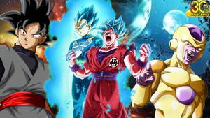 Dragon Ball Super Goku And Vegeta Blue