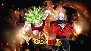 Jiren The Gray VS Legendary SSJ Kale