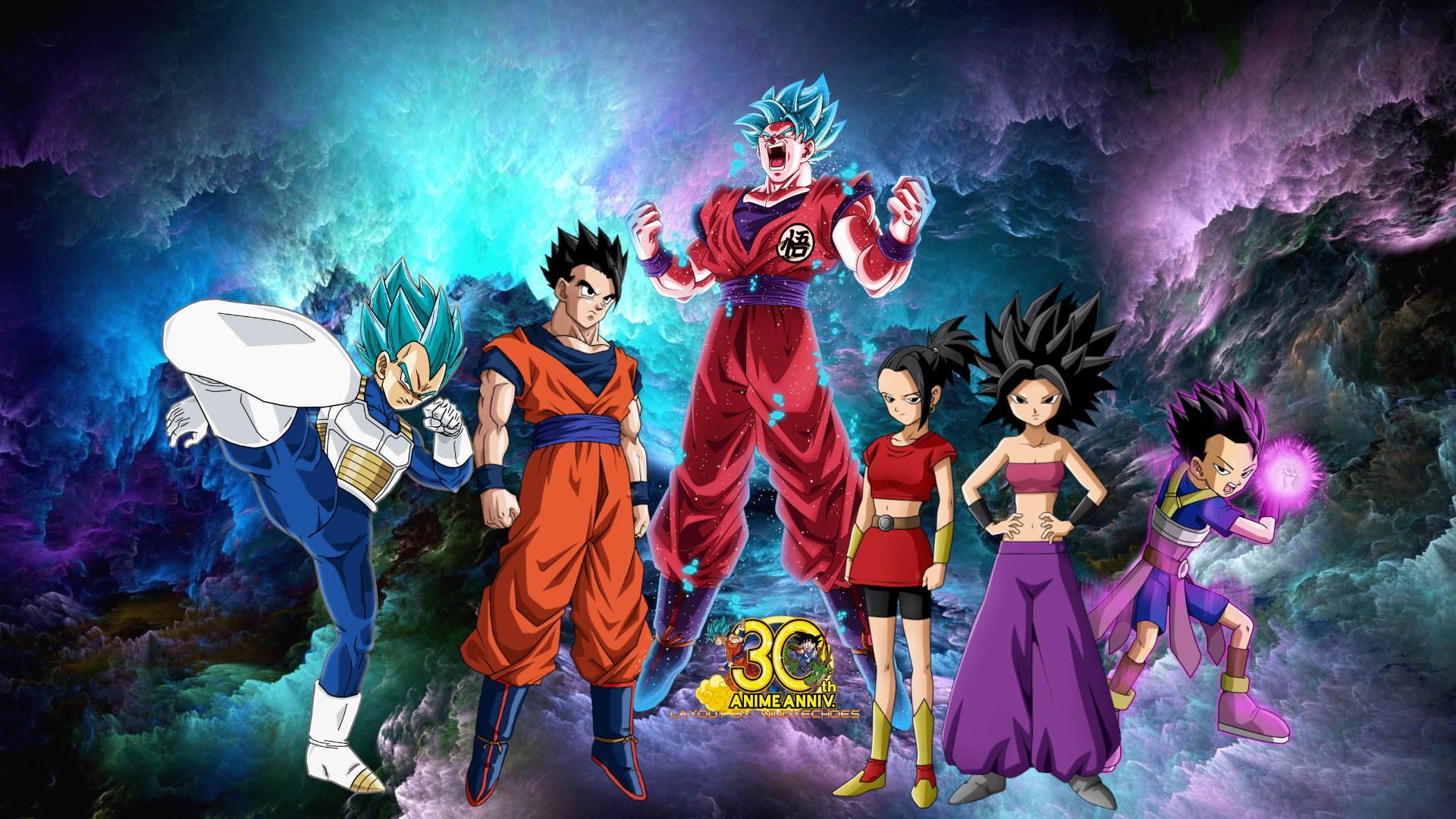 All Saiyans Tournament Of Power Wallpaper 2 By Windyechoes On
