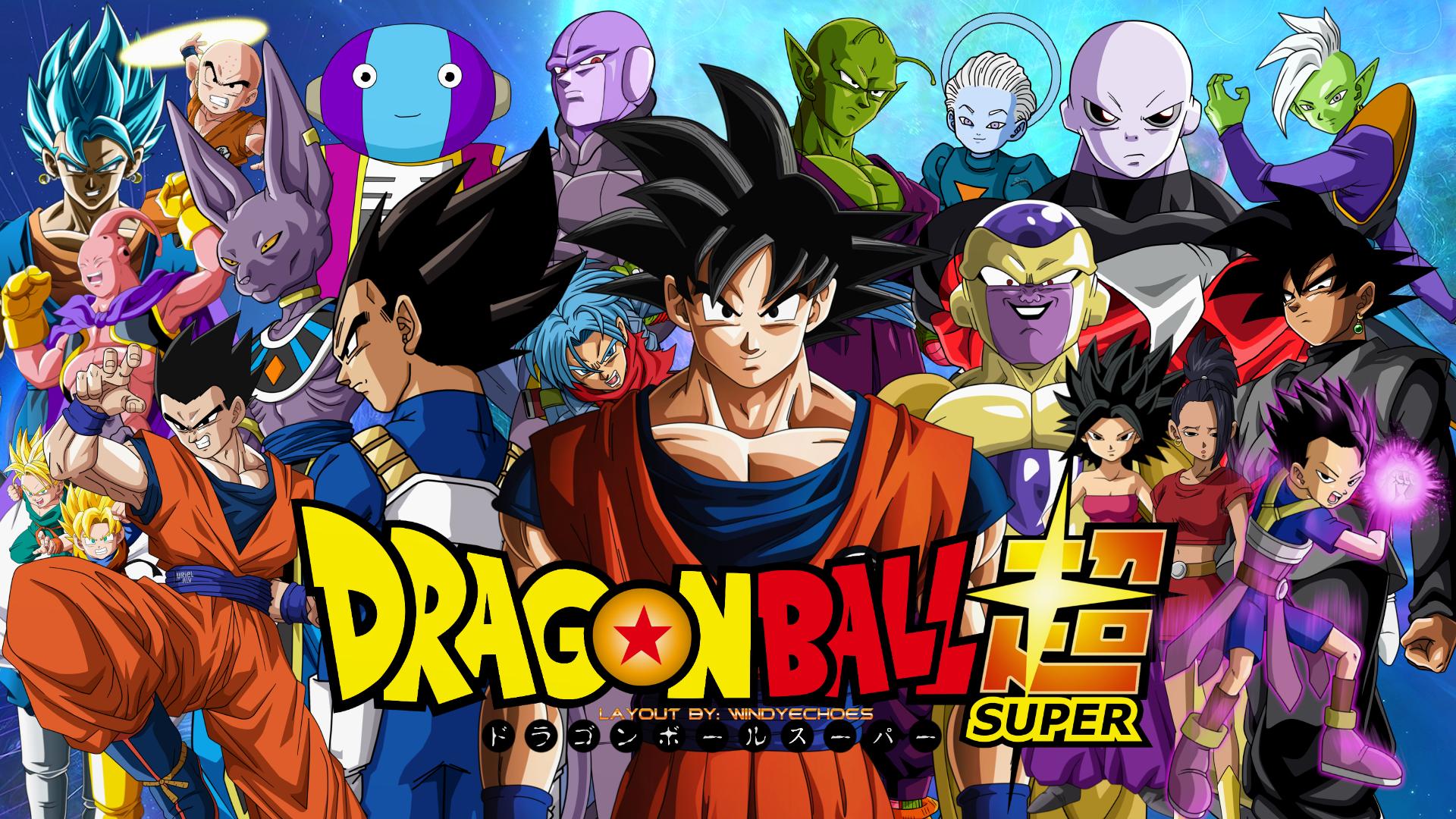 Dragon Ball Super Next Gen Group Wallpaper