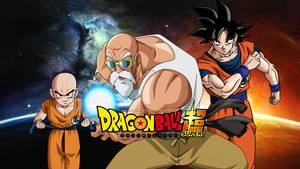 Roshi, Krillin And Goku - KAME Style Wallpaper