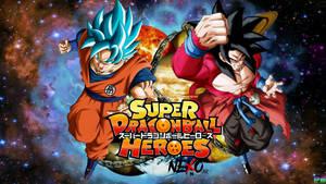 Xeno Goku SSJ4 VS Goku Blue Anime SDBH