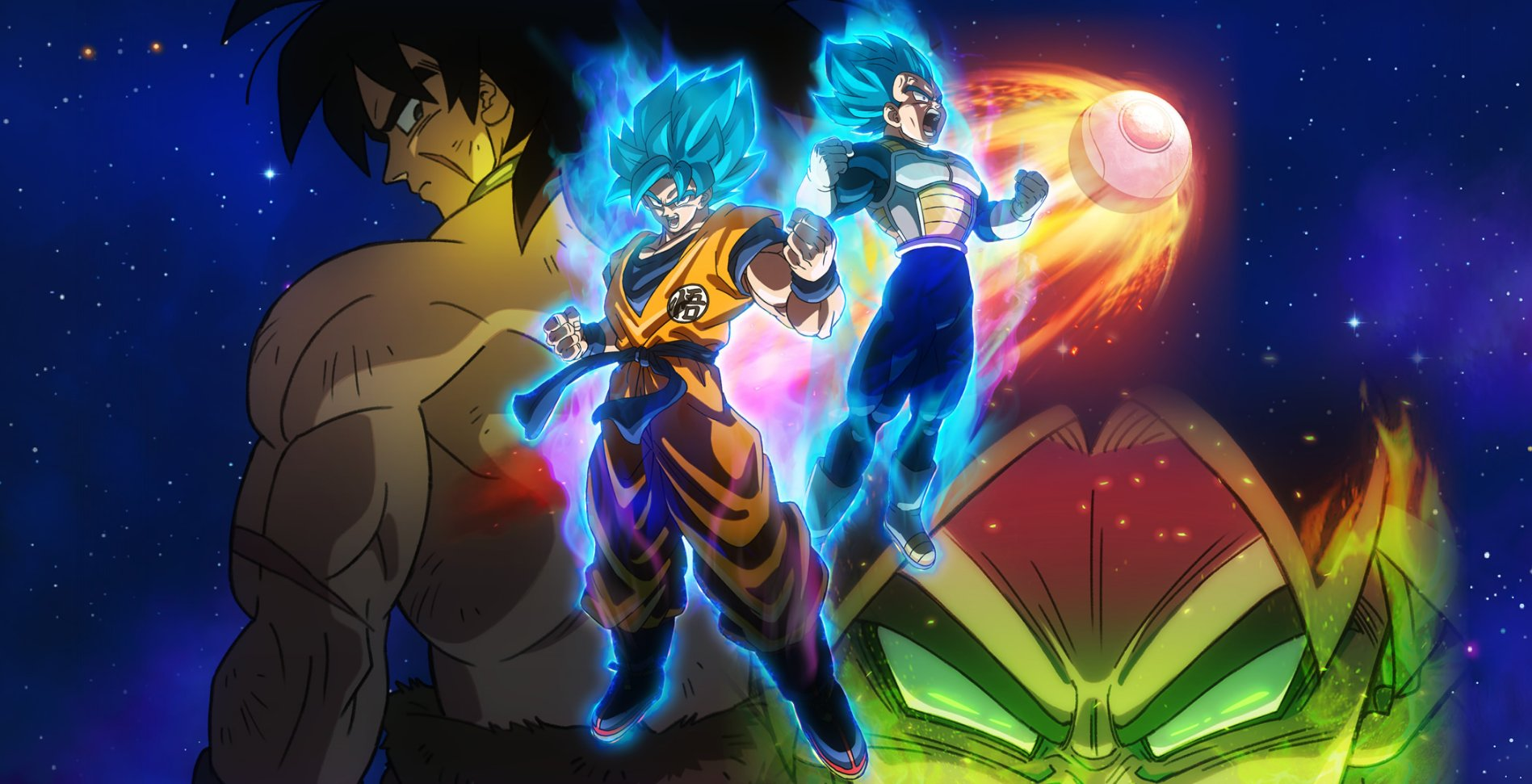 Dragon Ball Super Broly Movie Wallpaper Official By Windyechoes On