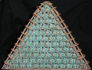 Patina Pyramid Face