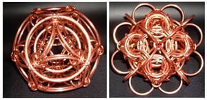 Copper Ornaments by Rescyou
