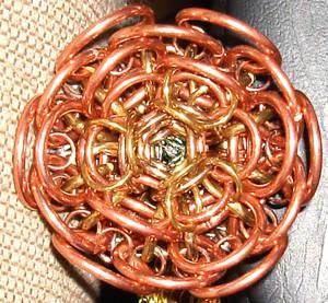 Ringed Rose Head