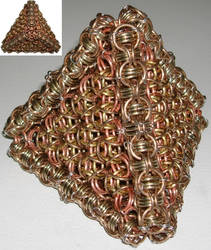 NickleSilver Bronze Pyramid