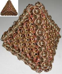 NickleSilver Bronze Pyramid