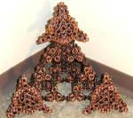 Inverted Round Celtic Pyramid