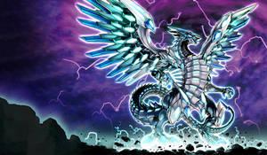 Blue-Eyes Chaos MAX Dragon Extended Art Playmat