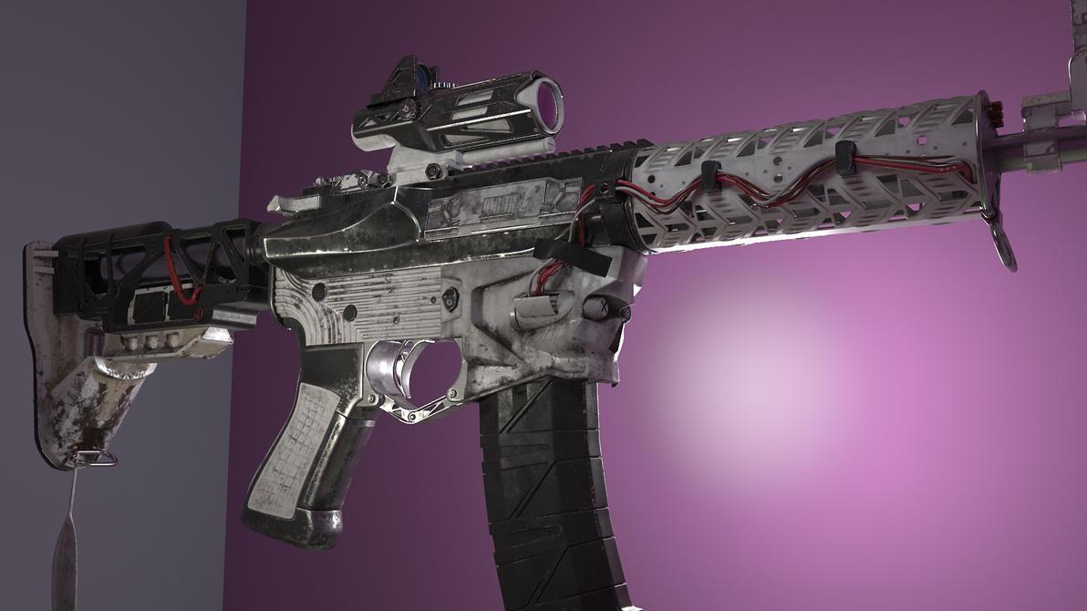 :: AR15 Raiilgun :: Storm Trooper theme by Looprix