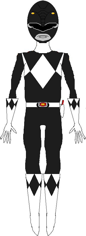 Black Ranger (1993-1995) by WILLIAM-1998
