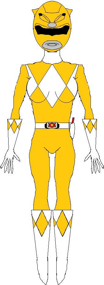 Yellow Ranger (1993-1995) by WILLIAM-1998