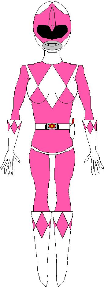 Pink Ranger (1993-1995) by WILLIAM-1998