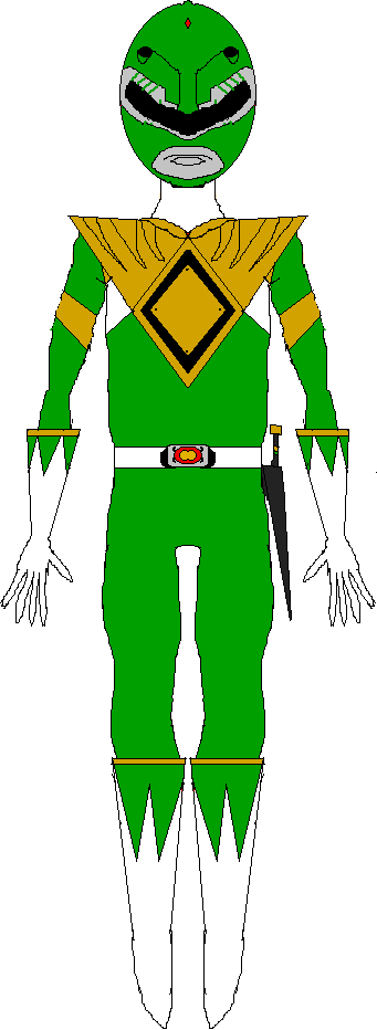 Green Ranger (1993-1994) by WILLIAM-1998