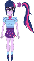 Twilight Sparkle (New Outfit) by WILLIAM-1998