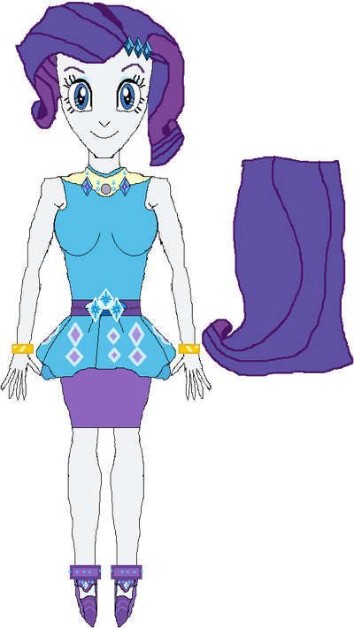 Rarity (New Outfit) by WILLIAM-1998
