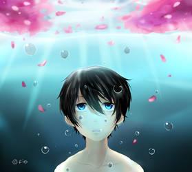 Sakura Pool by fiookami