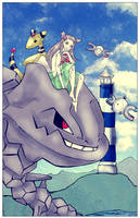 Pokemon -Gym Leader Jasmine- by Alinoschka
