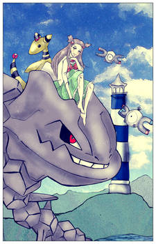 Pokemon -Gym Leader Jasmine-