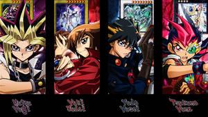 Yu-Gi-Oh - Main Protagonists Wallpaper V1