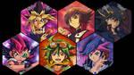 Yu-Gi-Oh! - Main Protagonists Wallpaper V3