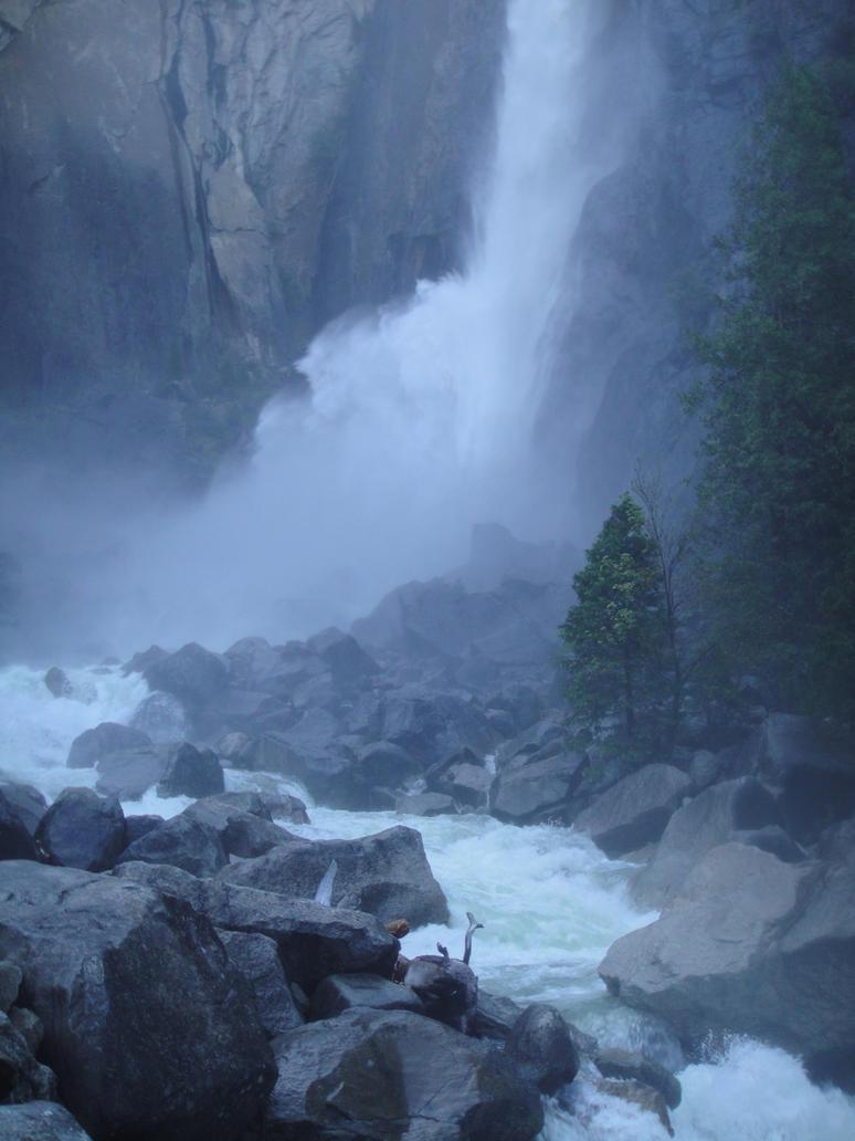 Waterfall 01 by dappledstock