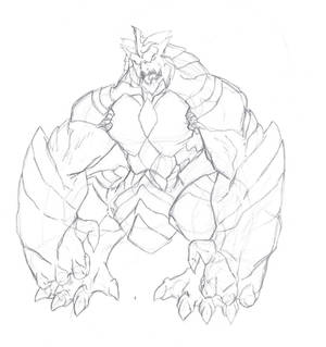 Giant Monster sketch