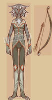 Warrior Huntress - OPEN by L-L-Adopts