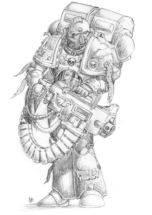 Space Marine by Robban-O