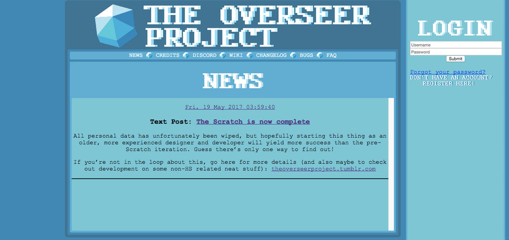 The Unofficial Guide to the Overseer Project by wiiabee on DeviantArt