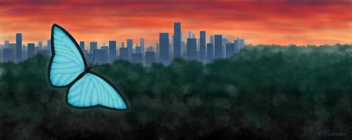 Galt Skyline by Laanuei