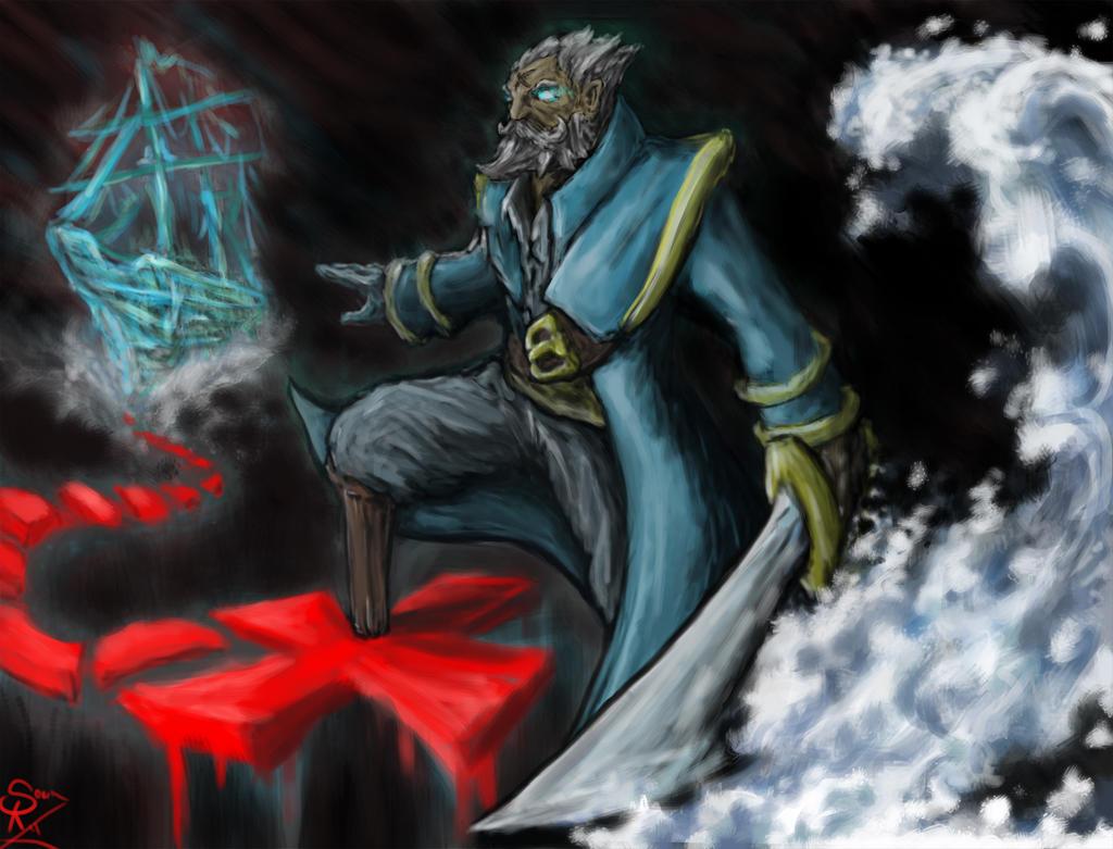 Kunkka, the Admiral by Halycon450 on DeviantArt