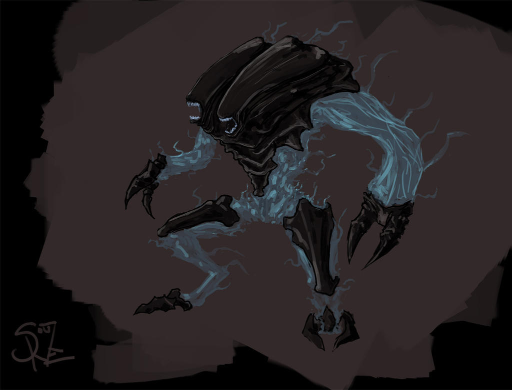 Ulyaoth Horror by Halycon450
