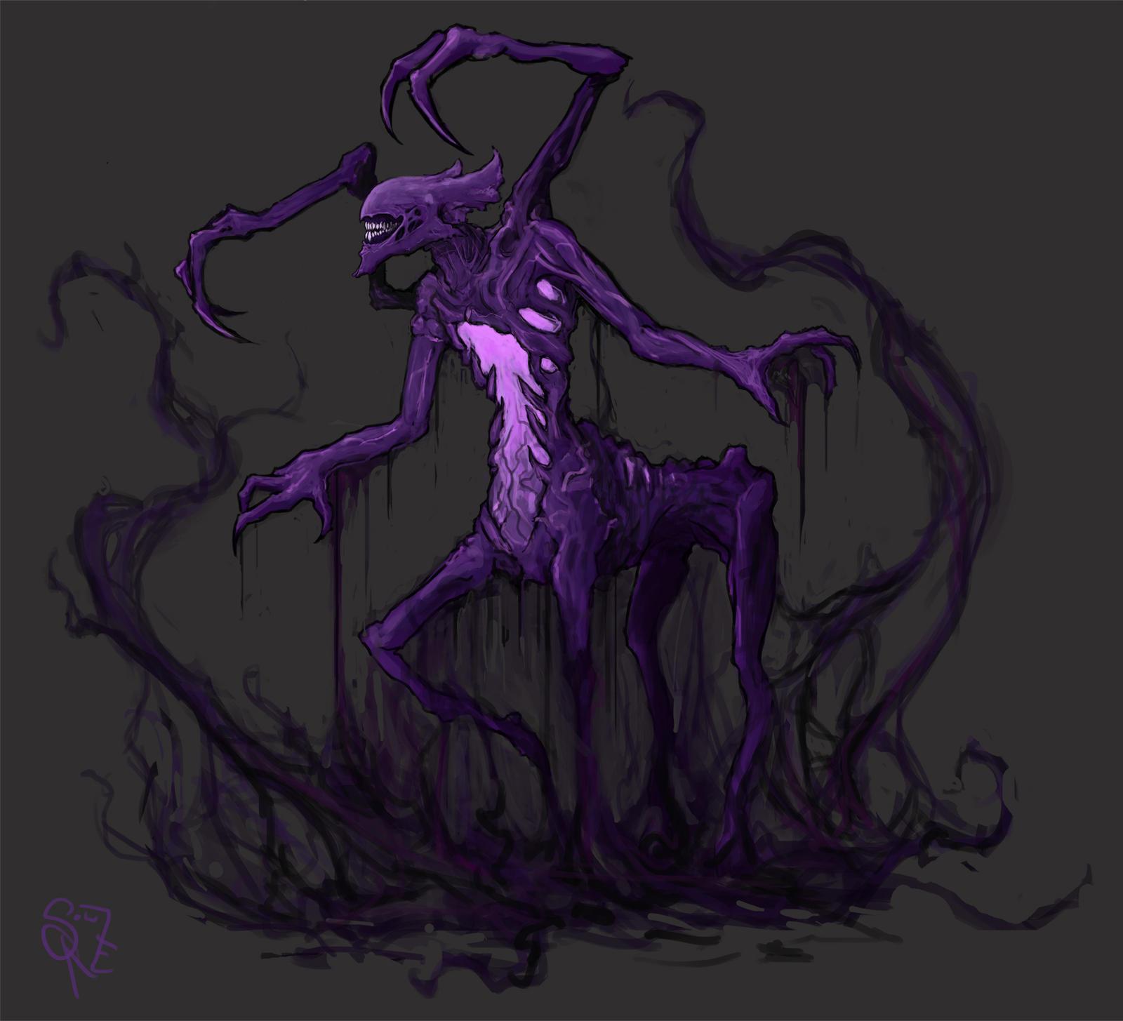 Atropos, the Bane Elemental by Halycon450