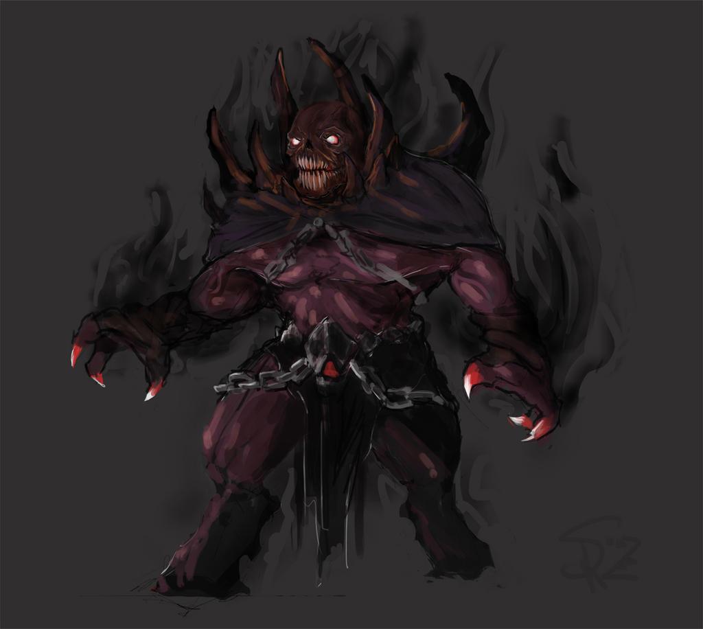 shadow demon by halycon450 on deviantart