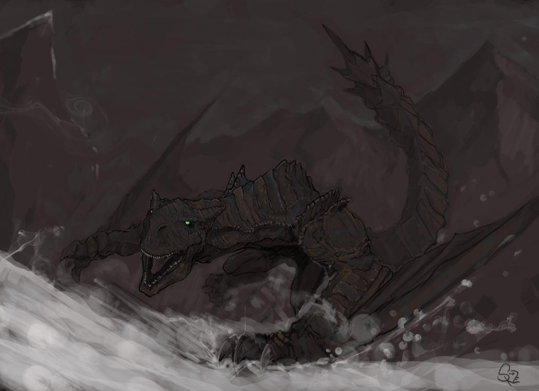Tigrex, the Roaring Wyvern by Halycon450