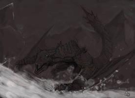Tigrex, the Roaring Wyvern by Halycon450